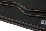 Premium floor mats fits for Seat Altea 5P from 2004-2015  L.H.D. only Bild 3