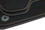 Premium floor mats fits for Seat Altea 5P from 2004-2015  L.H.D. only Bild 4