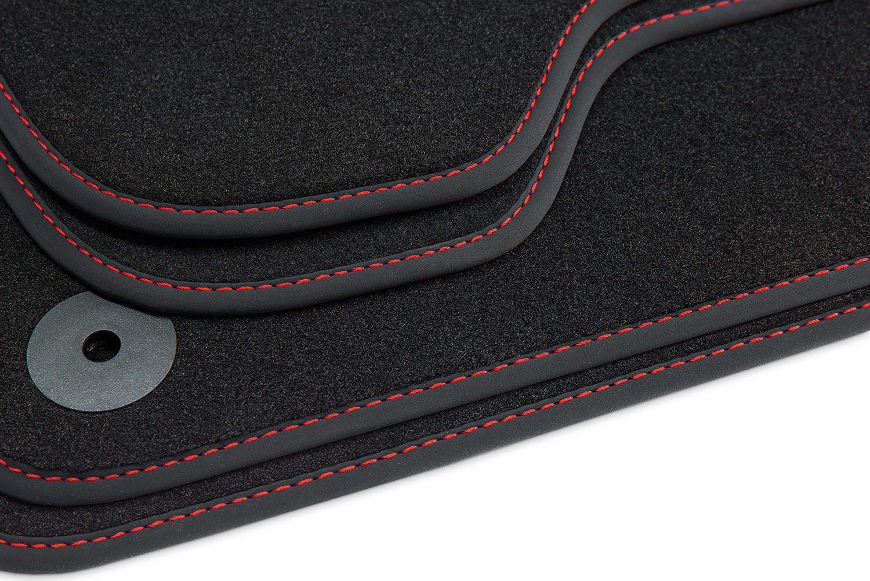 premium fu matten f r seat ibiza 5 kj xcellence fr style. Black Bedroom Furniture Sets. Home Design Ideas
