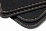 Premium floor mats fits for Seat Ibiza 4 IV 6L from 2002-2008 L.H.D. only