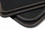 Premium Fußmatten für Seat Exeo 3R Limo ST Kombi Sport FR Bj. 2009-2013