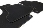 Ganzjahres Fußmatten für Seat Leon 2 1P FR Cupra Style Bj. 2005-2012 Bild 7