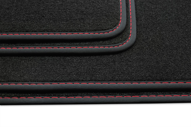 Luxury-line Fussmatten für BMW 3er F30 F31 F80 Touring Kombi Limo Bj 2012