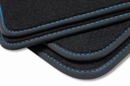 Premium floor mats fits for VW Golf IV 4 1997-2003 L.H.D. only