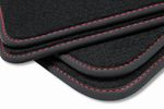 Premium floor mats for VW Touareg I 1 7L 2003-2010 L.H.D. only Bild 8