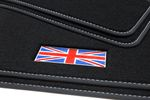 Exclusive Union Jack floor mats fits for Mini R50 53 floor mats 2001-2006 L.H.D. only