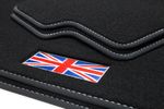 Exclusive Union Jack floor mats fits for Mini II R56 2006-02/2014 L.H.D. only