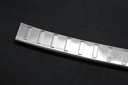 Stainless steel bumper protector with fold fits for BMW X5 E70