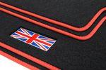 Union Jack floor mats fits for Mini II R56 2006-02.2014 L.H.D. only Bild 2