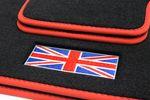 Union Jack floor mats fits for Mini II R56 2006-02.2014 L.H.D. only Bild 3