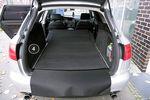 3-pièces tapis de sol du coffre adapté pour Audi A6 4B Avant année 1998-2005 Bild 4