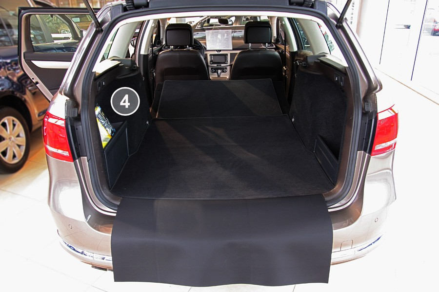 3 pi ces tapis de sol du coffre adapt pour vw passat b6 3c sw ann e 2005 2010 tapis de coffre. Black Bedroom Furniture Sets. Home Design Ideas