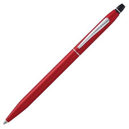 Cross Kugelschreiber Click Rotmetallic