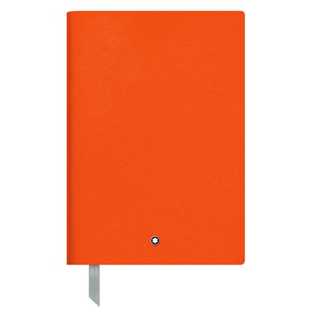 Montblanc Fine Stationery Notebook 146 Lucky Orange, liniert