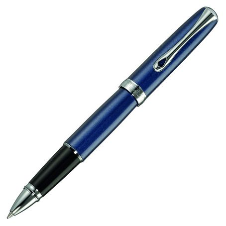 Diplomat Tintenroller Excellence A2 Midnight blue chrom