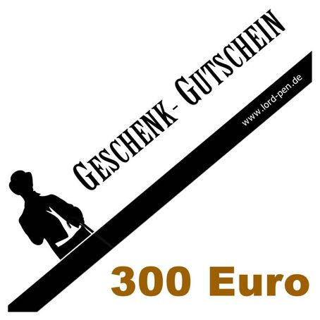 300 Euro Geschenkgutschein