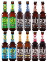 Crew Republic Craft Beer Vielfalt 12x 0,33l