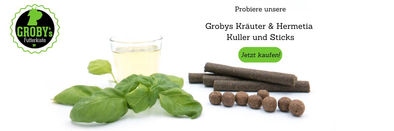 Grobys Kräuter & Hermetia Sticks