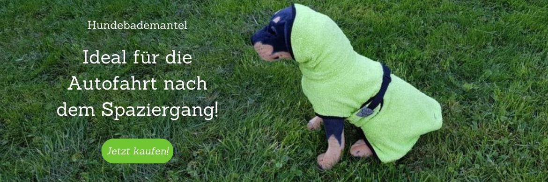 Hundebademantel 100% Baumwolle
