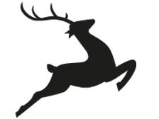Kauartikel vom Hirsch