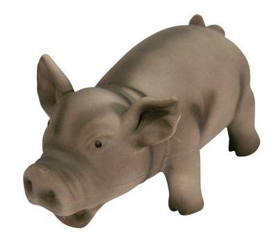 Latex Schwein mit Grunzton 15 cm – Bild 2