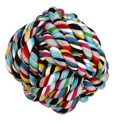 Großer Ball geknotet aus Baumwolle 15 cm