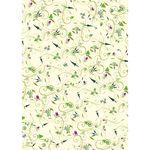 Weihnachtsgeschenkpapier - 1 Bogen romantisch floral von ExtraDesign 002