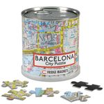 City Puzzle Magnets - Barcelona von Extragoods