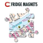 City Puzzle Magnets - Hamburg von Extragoods Bild 3