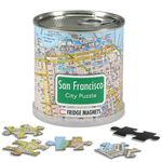 City Puzzle Magnets - San Francisco von Extragoods Bild 1