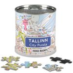 City Puzzle Magnets - Tallinn von Extragoods