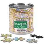 City Puzzle Magnets - Los Angeles von Extragoods Bild 1