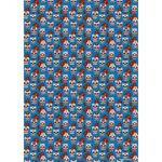 Gift wrap paper DAY OF THE DEAD - Set of 3 003