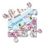 City Puzzle - Mannheim / Ludwigshafen von Extragoods Bild 5