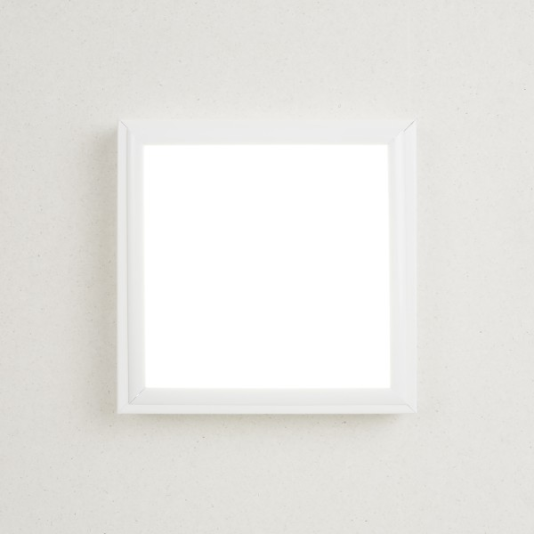 LED Panel 15 Watt 30x30 cm Deckenleuchte Wandleuchte Einbaulampe inkl. Rahmen – Bild 4