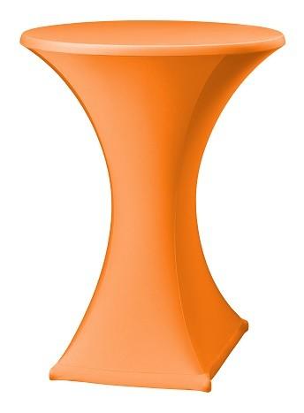 Stehtischhusse Festival D2 New-Jersey für 70 bis 85 cm Durchmesser Tischumfang mit Reißverschluss  – Bild 6