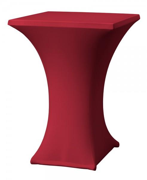 Stehtischhusse Rumba D2 Easy-Jersey für einen Tisch mit 80x80 cm  – Bild 5