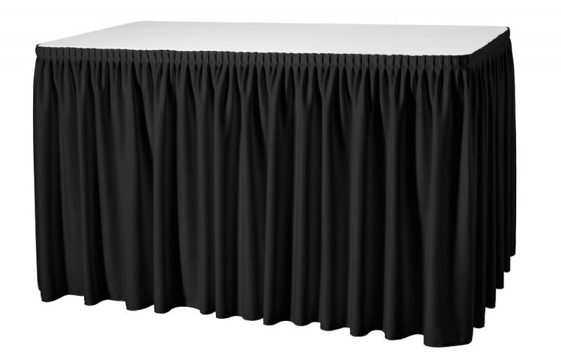 Skirting Plissé President Tischskirtings für 410 bis 580 cm Tischumfang – Bild 8