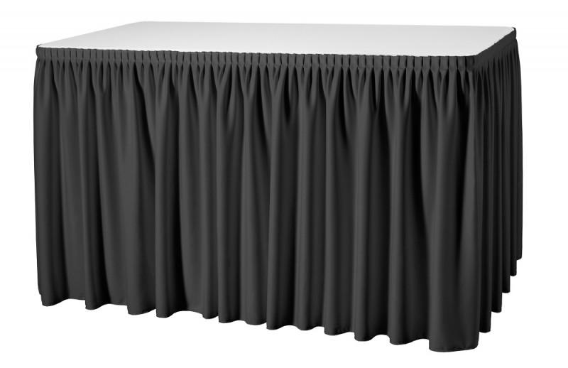 Skirting Plissé President Tischskirtings für 410 bis 580 cm Tischumfang – Bild 9