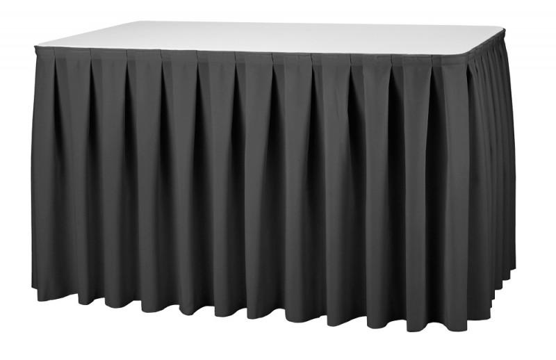 Skirting Boxpleat President Tischskirtings für 410 bis 580 cm Tischumfang – Bild 1