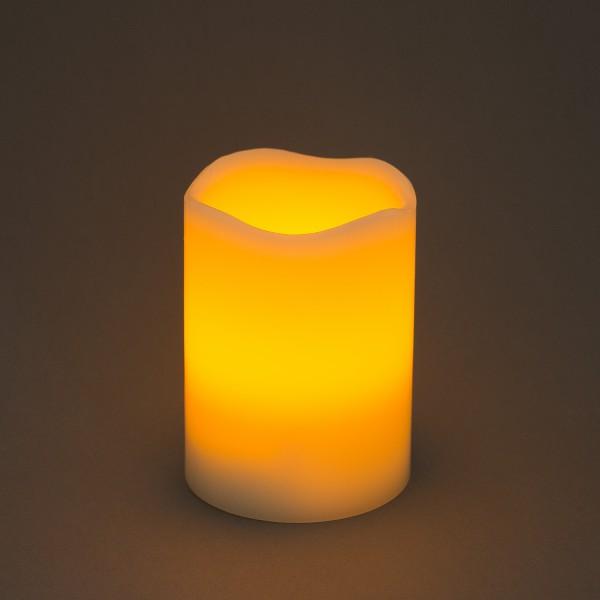 LED Echtwachskerze Wachskerze Dekoleuchte – Bild 5