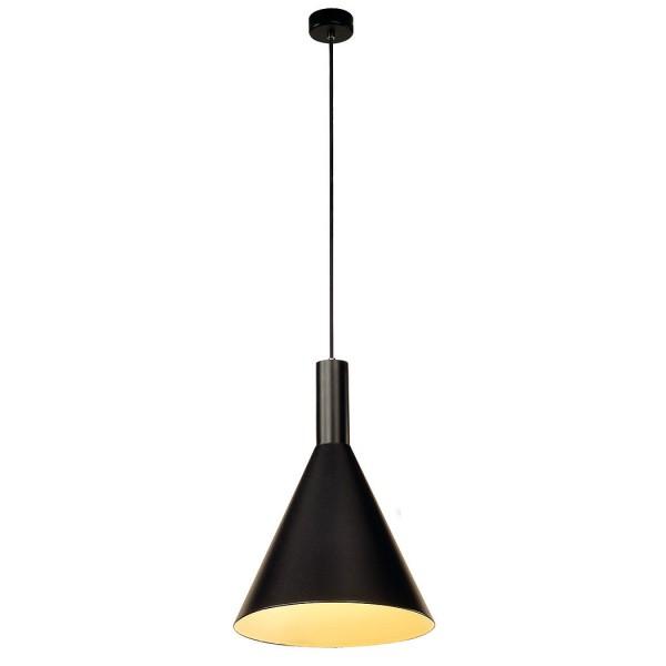 PHELIA Pendelleuchte, schwarz, D275/H320, E27, max. 23W  – Bild 1