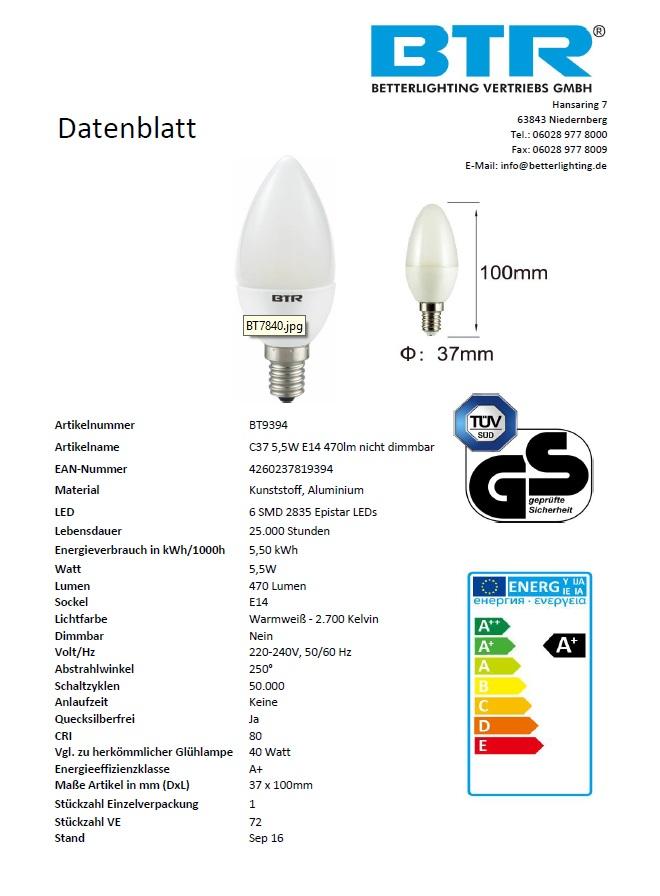 E14, E27, GU10, G9, G4 LED Leuchtmittel 1.4W,1.5W,2W,3W,3x1W,5.5W,6W,9.5W,15W – Bild 2