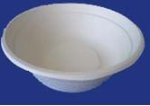 Bio-Geschirr 500ml tiefer Suppenteller P-15/50 Einweggeschirr – Bild 2