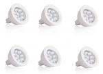 6er Set LED Leuchtmittel GU5,3 Leistung 3W  250 lm, 8 LED Energiesparlampe 1