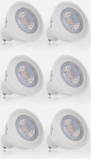 LED Leuchtmittel Spot GU10, BT 7888, 6W COB 420 lm Energiesparlampe – Bild 1