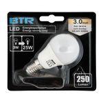 12er Set LED Leuchtmittel P45, Leistung 3W, E14, 250 lm, 9 SMD, Energiesparlampe 2