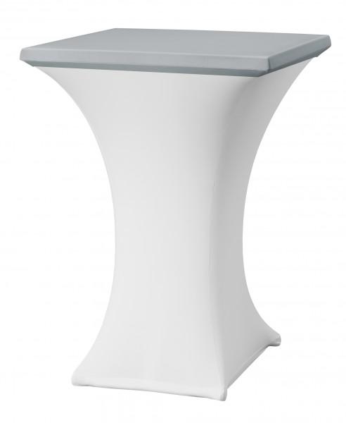 Tischplattenüberzug Rumba Easy-Jersey für Stehtisch 80x80 cm  – Bild 15