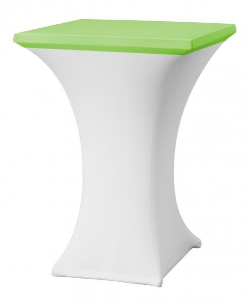 Tischplattenüberzug Rumba Easy-Jersey für Stehtisch 80x80 cm  – Bild 8