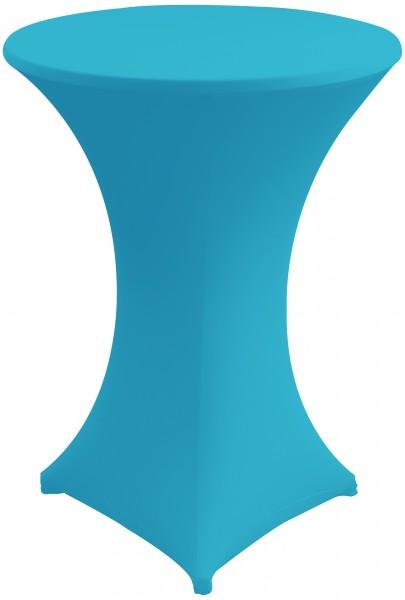 Stehtisch Stretchhusse-Uni 2-Teilig von 70 - 85 cm Tischplattenumfang, mehrere Farben auf Lager, gute Qualität – Bild 13